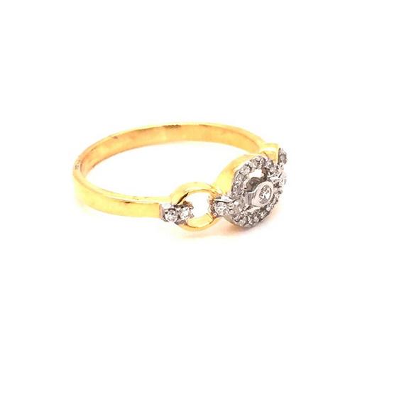 Madam classic แหวนเพชร [MCDRG3637YG56]