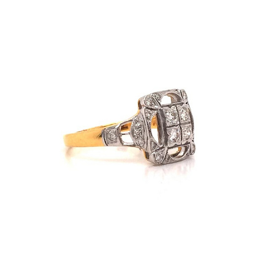 Madam classic แหวนเพชร [MCDRG3484YG53]