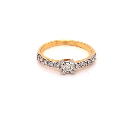 Madam classic แหวนเพชร [MCDRG4036YG48]