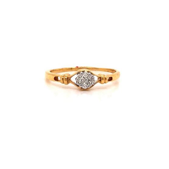 Madam classic แหวนเพชรกระจุก [MCDRG3531YG53]