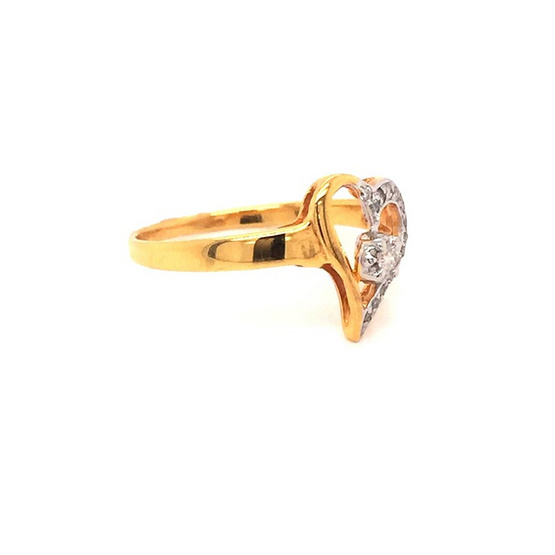Madam classic แหวนเพชร [MCDRG3264YG51]