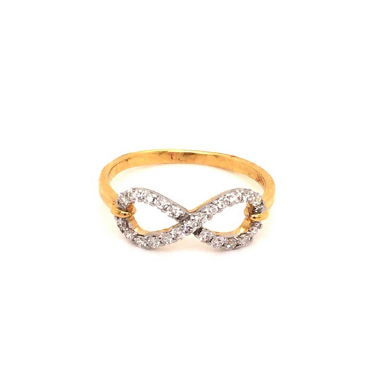 Madam classic แหวนเพชร8 [MCDRG4111YG50]