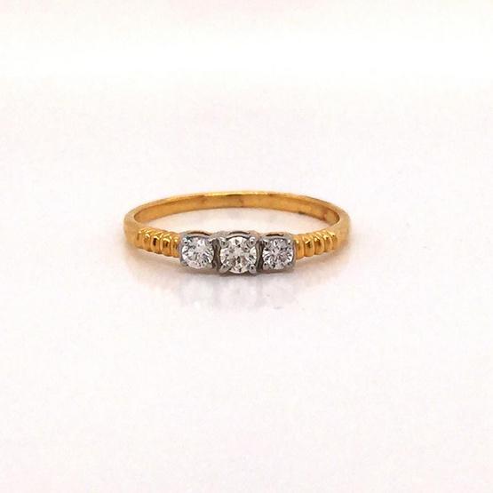 Madam classic แหวนเพชร [MCDRG4112YG51]