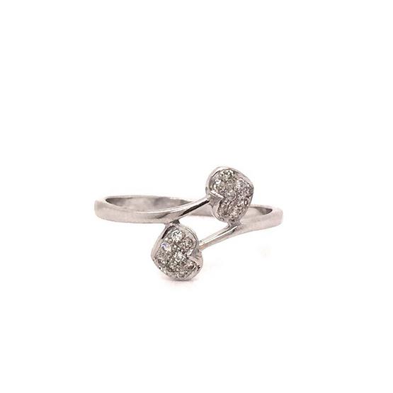 Madam classic แหวนหัวใจไขว้ [MCDRG3888YG52]