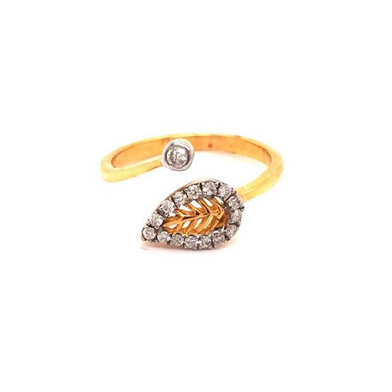 Madam classic แหวนใบไม้ [MCDRG4267YG50]