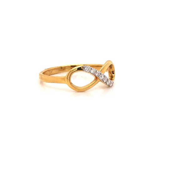 Madam classic แหวนอินฟินิตี [MCDRG4110YG50]