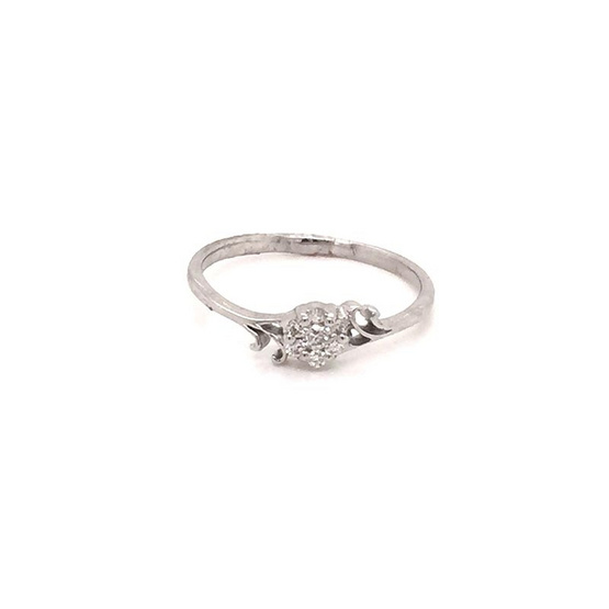 Madam classic แหวนดอกไม้ [MCDRG3711YG55]