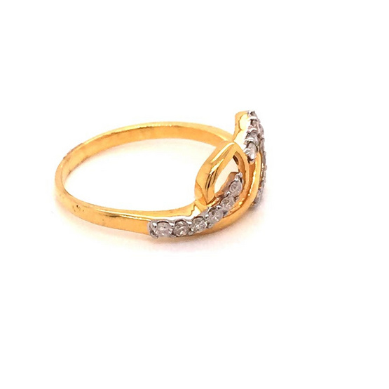 Madam classic แหวนเพชร [MCDRG3985YG56]