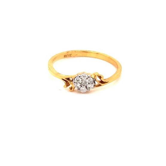 Madam classic แหวนเพชรแท้ [MCDRG3998YG50]