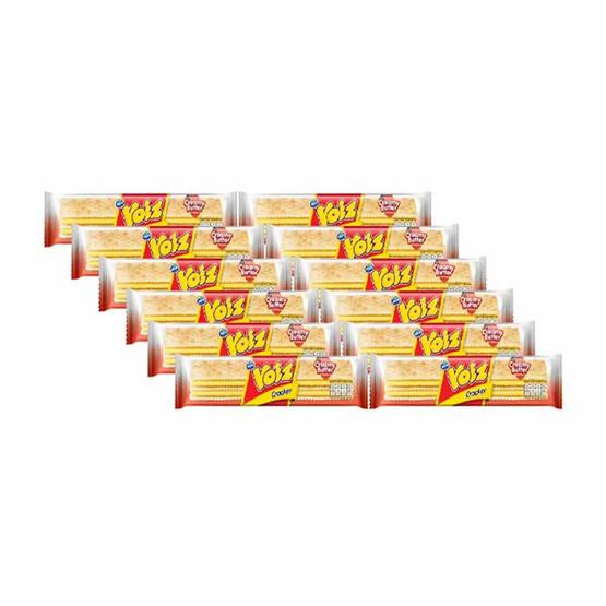 วอยซ์ แครกเกอร์รสครีมมี่บัตเตอร์ 28 กรัม แพ็ก 12 ชิ้น