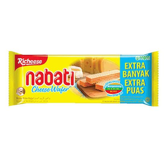 นาบาติ เวเฟอร์สอดไส้ชีส 32 กรัม (แพ็ก 12 ชิ้น)