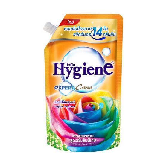 ไฮยีน น้ำยาปรับนุ่มเข้มข้น แฮปปี้ซันชายน์ 540 มล.