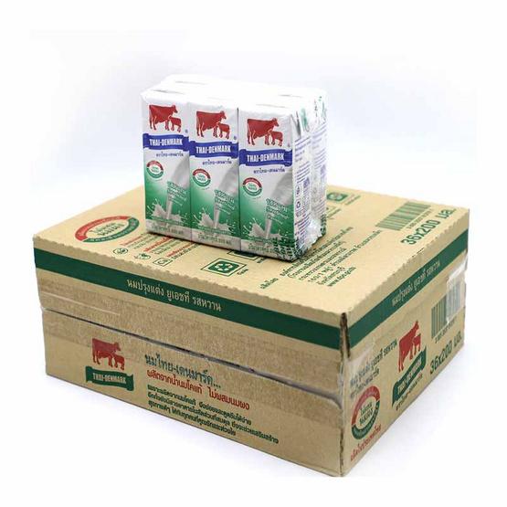 ไทยเดนมาร์ค นมUHT รสหวาน 200 มล. (ยกลัง 36 กล่อง)