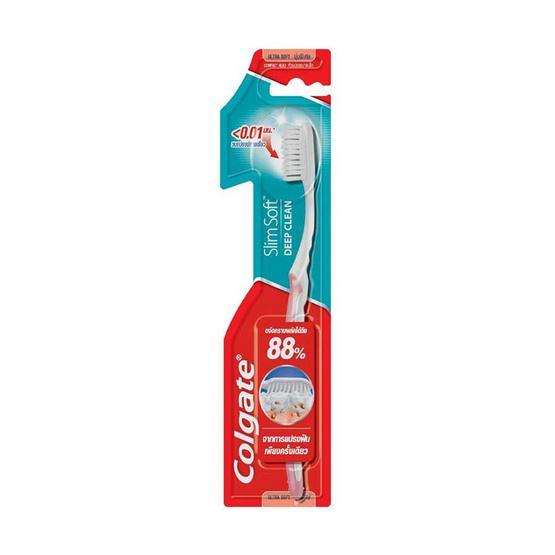 คอลเกต แปรงสีฟัน สลิมซอฟท์ดีพคลีน (แพ็ก 6 ด้าม)