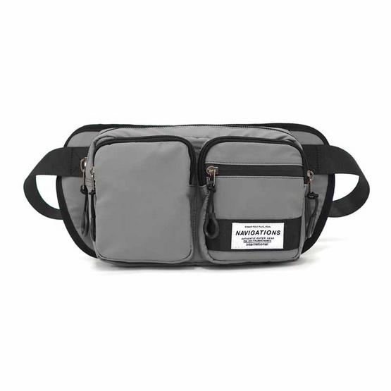 Romar Polo Plus กระเป๋าคาดเอว Collection Navigation รุ่น 9925 (สีเทา)