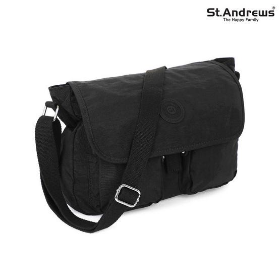 St.Andrews กระเป๋าสะพาย รุ่น All Around - ( สีดำ )