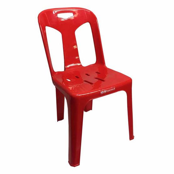 Srithai Superware เก้าอี้มีพนักพิงรุ่น CH-59 สีแดง