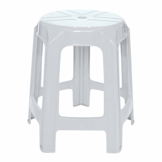 Srithai Superware เก้าอี้ไม่มีพนักพิงรุ่น CH-61 สีขาว