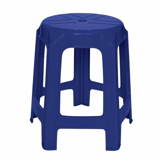 Srithai Superware เก้าอี้ไม่มีพนักพิงรุ่น CH-61 สีน้ำเงิน