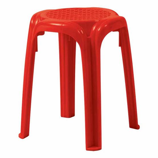 Srithai Superware เก้าอี้ไม่มีพนักพิงรุ่น CH-35 สีแดง