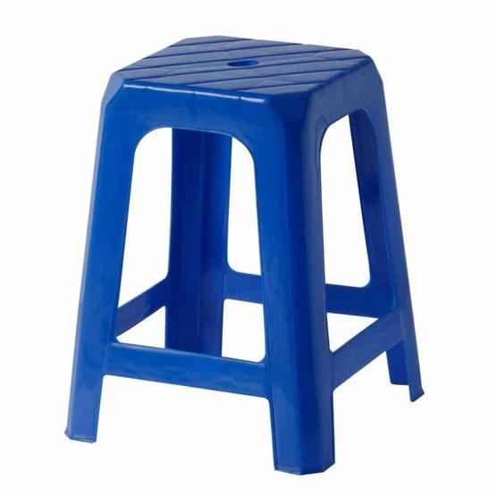 Srithai Superware เก้าอี้ไม่มีพนักพิงรุ่น CH-37 สีน้ำเงิน
