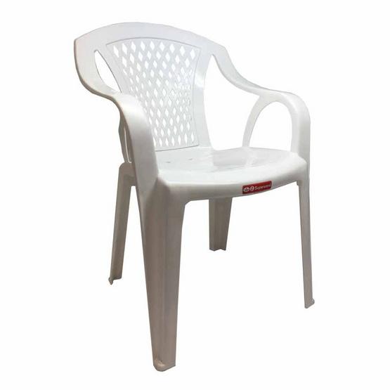 Srithai Superware เก้าอี้มีท้าวแขนรุ่น CH-52 สีขาว