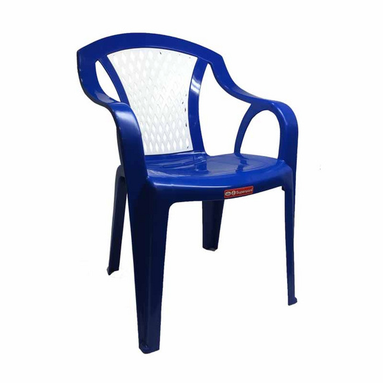 Srithai Superware เก้าอี้มีท้าวแขนรุ่น CH-52 สีน้ำเงิน