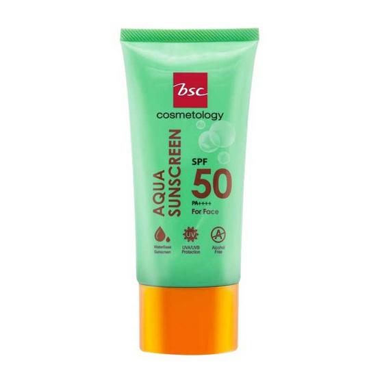 BSC ครีมกันแดด Aqua Sunscreen SPF50 PA++++ 50 มล.