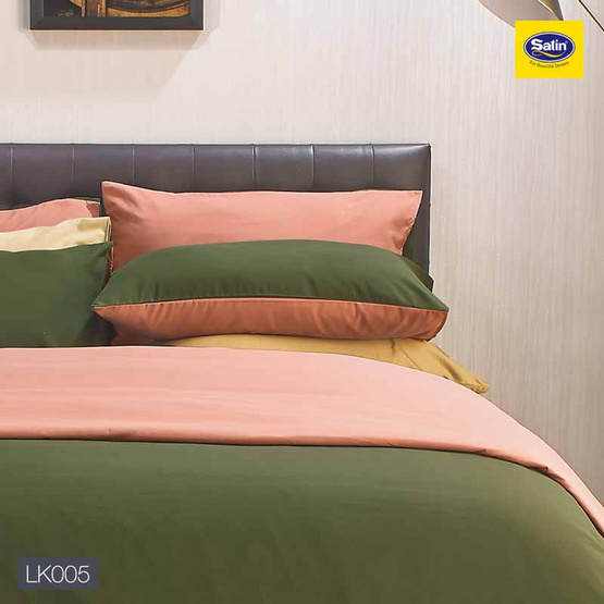 Satin Plus Lucky Me ผ้าปูที่นอน LK005