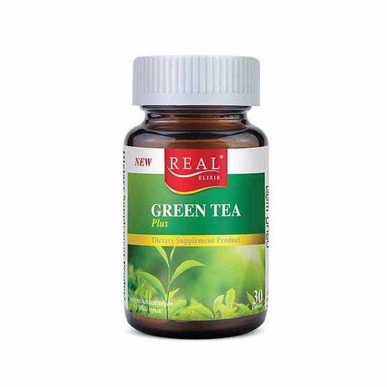 Real Elixir กรีนที พลัส บรรจุ 30 แคปซูล