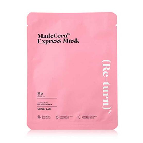 SKINRx LAB มาส์กแผ่น MadeCera Express Mask Pouch 25 กรัม
