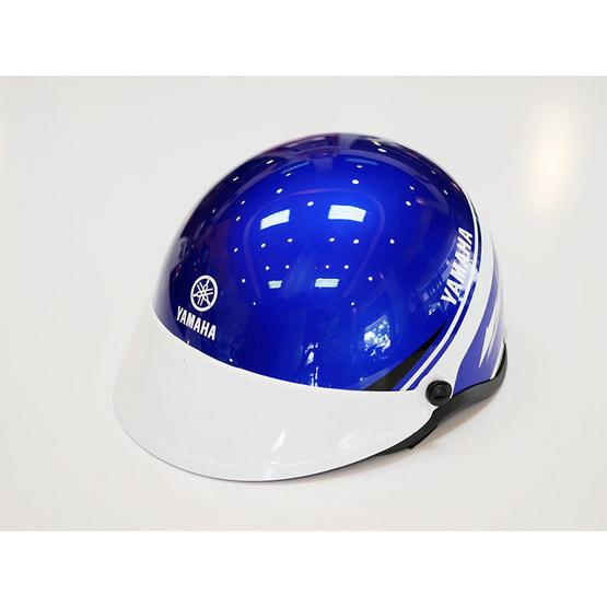 YAMAHA หมวกกันน็อคเด็ก 5-12ปี(สีน้ำเงิน/ขาว)