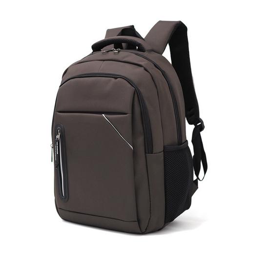 HQ LUGGAGE กระเป๋าเป้ โน้ตบุ๊ค Sky-bow รุ่น 11143 (สีน้ำตาล)
