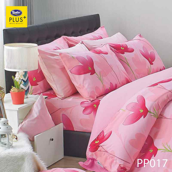 Satin Plus ชุดผ้าปูที่นอน PP017