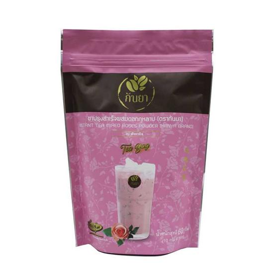 กันยาชาผสมดอกกุหลาบปรุงสำเร็จชนิดซองจุ่ม 60 กรัม (6 ซอง/ถุง)