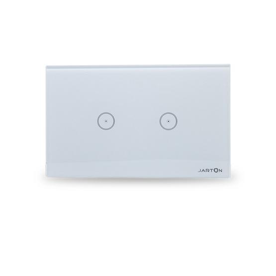 Jarton สวิตช์ไฟสัมผัส และ สามารถควบคุมผ่าน Smart Phone 2 ช่อง