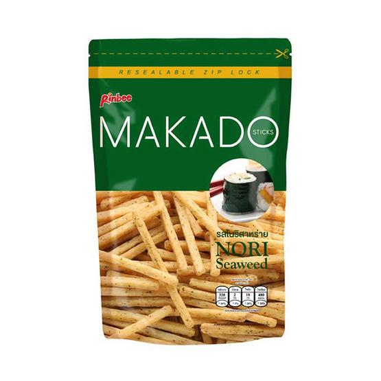มากาโดะสติ๊ก มันฝรั่งแท่งรสโนริสาหร่าย 60 กรัม (แพ็ก 3 ชิ้น)