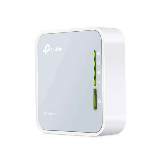TP-Link Wi-Fi เราเตอร์ พกพา TL-WR902AC AC750 Wireless Travel Router