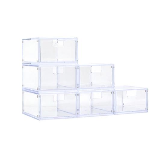 UDEE กล่องลิ้นชักแม่เหล็ก-ใสขนาดเล็ก (ชุด 6 ชิ้น)