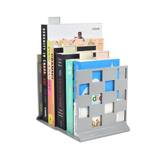 UDEE ที่ตั้งหนังสือพร้อมแผ่นเสียบที่คั่นหน้าหนังสือ สีพาสเทล