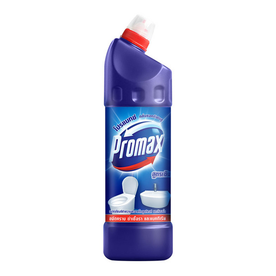 โปรแม็กซ์ ล้างห้องน้ำสูตรเข้มข้นสีน้ำเงิน 900 มล.
