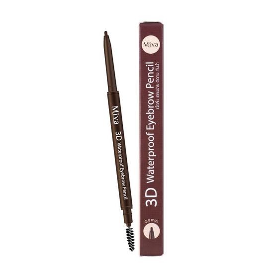 Miva ดินสอเขียนคิ้ว 3D Waterproof Eyebrow Pencil
