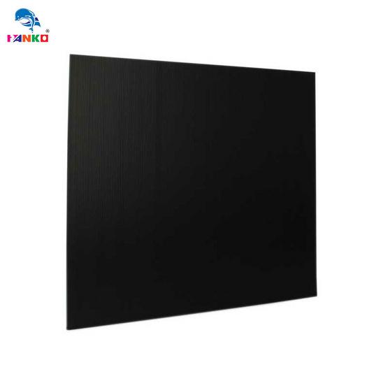 PANKO แผ่นฟิวเจอร์บอร์ด 65x49 ซม. หนา 2 มม. สีดำ (แพ็ค3แผ่น)