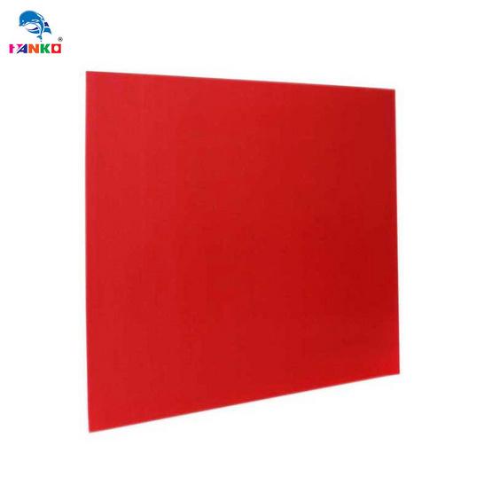 PANKO แผ่นฟิวเจอร์บอร์ด 65x49 ซม. หนา 2 มม. สีแดง (แพ็ค3แผ่น)