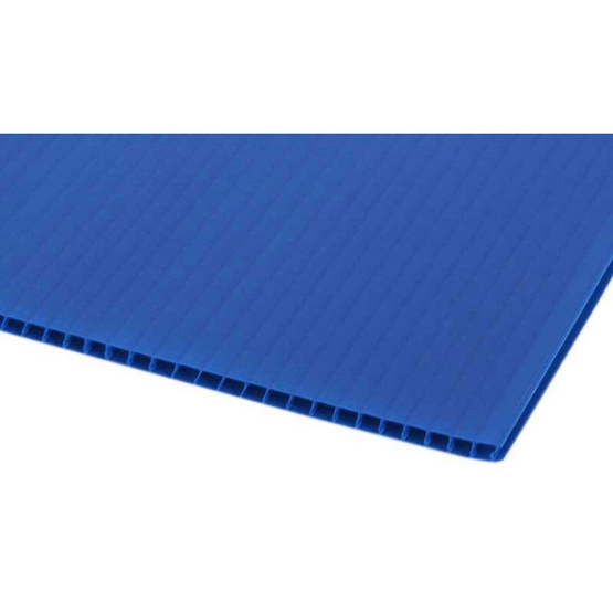 PANKO แผ่นฟิวเจอร์บอร์ด 65x49 ซม. หนา 2 มม. สีน้ำเงิน (แพ็ค3แผ่น)