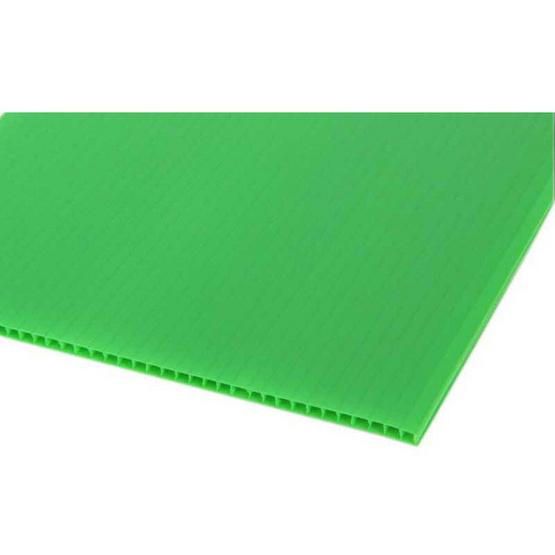 PANKO แผ่นฟิวเจอร์บอร์ด 65x49 ซม. หนา 2 มม. สีเขียวอ่อน (แพ็ค3แผ่น)