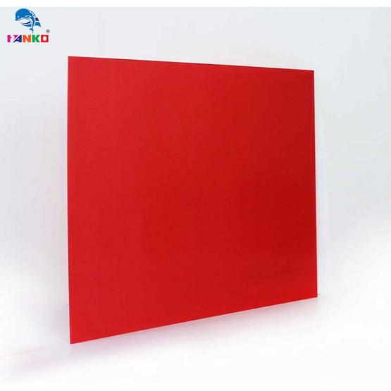 PANKO แผ่นฟิวเจอร์บอร์ด 65x80 ซม. หนา 3 มม. สีแดง (แพ็ค2แผ่น)