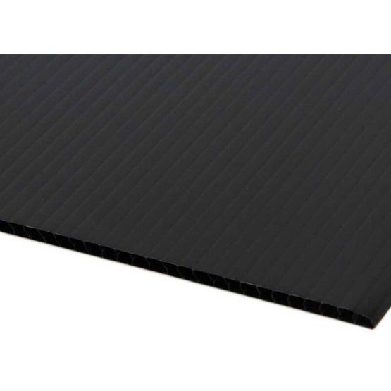 PANKO แผ่นฟิวเจอร์บอร์ด 65x80 ซม. หนา 3 มม. สีดำ (แพ็ค2แผ่น)