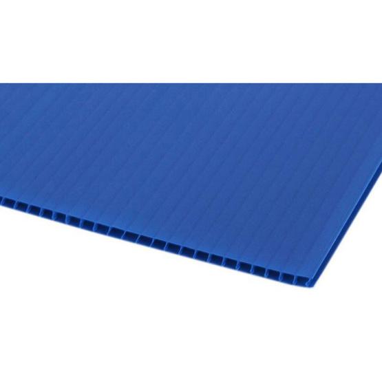 PANKO แผ่นฟิวเจอร์บอร์ด 65x80 ซม. หนา 3 มม. สีน้ำเงิน (แพ็ค2แผ่น)