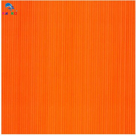PANKO แผ่นฟิวเจอร์บอร์ด 65x80 ซม. หนา 3 มม. สีส้ม (แพ็ค2แผ่น)